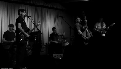 The Haymarket Squares perform at Crescent Ballroom on Feb 9, 2013